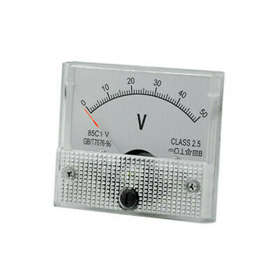 1pc Voltmeter Practical 85C1 Voltmeter Analog Voltage Panel Needle Volt Voltage