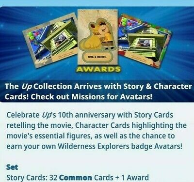 Topps Disney Collect Card Trader UP Story Card Common Mixed Lot of 9