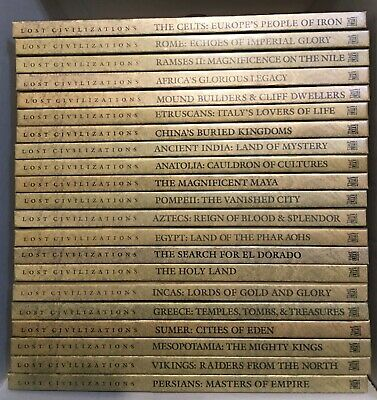 Time-Life book set: Lost Civilizations-22 volumes