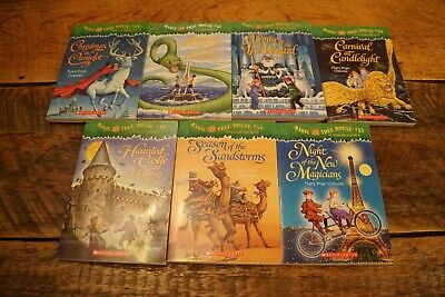 Lot 7 Magic Tree House Merlin Mission Books Scholastic #29-35  Mary Pope Osborne