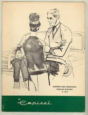 EMPISAL MACHINE KNITTING PATTERN BOOK - FAMILY KNITWEAR IN 8ply