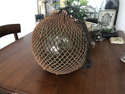 Vintage Authentic Large Netted Japanese Sea Float ~ 30cm (12') Size #1