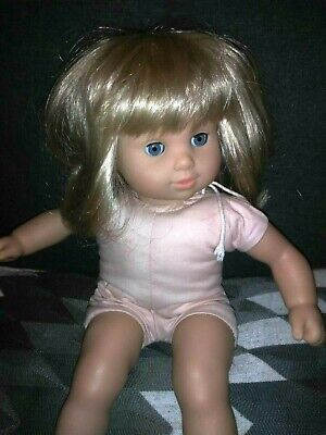 American Girl BITTY BABY DOLL ~ BLONDE HAIR ~ BLUE EYES ~