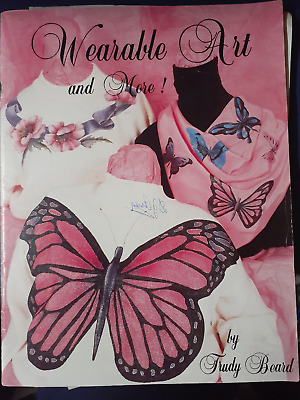 wearable art craft book fabric painting complete