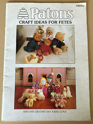 Patons Craft Ideas For Fetes Knitting Book