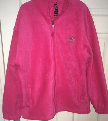 Karrimor KIDS Age 13 Pink Zip Up Fleece