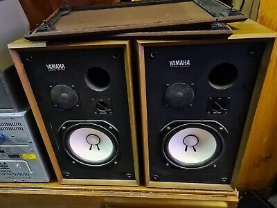 Vintage  Yamaha Ns 451 Speakers , Made In Japan  Located In Seaford Vic