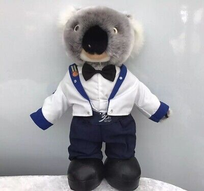 Vintage Constable Kenny Koala AFP 30th Anniversary Plush Toy Federal Police