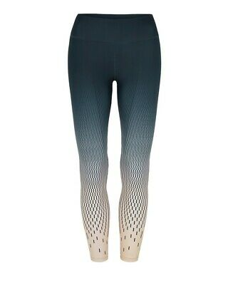 Vie Activewear Compression Workout Leggings in Ombre Print Size M
