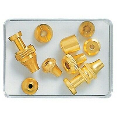Assortment of Brass Clock Pendulum Rating Nuts for Rods (9) Clocks - CX175
