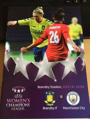 2016 Brondby If V Manchester City Women - Womens Champions League