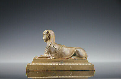 Grand Tour Bonze Sphinx c 1840 Neoclassical Chimera