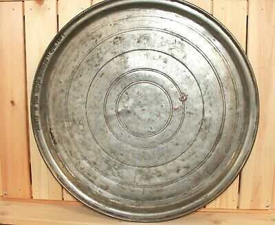 1923 Hand made tinned copper tray baking dish