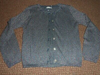 Girls Next blue Sparkly / glittery cardigan / cardi 5 Years