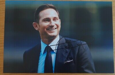 Frank Lampard Chelsea Personally Hand Signed Autograph 12X8 Photo