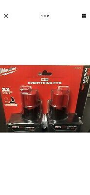 Milwaukee 48-11-2412 M12 12-Volt Lithium-Ion XC Extended Capacity Battery 3.0Ah