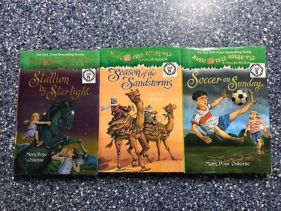 Magic Tree House lot of 3 Mary Pope Osborne #34, 49, 52