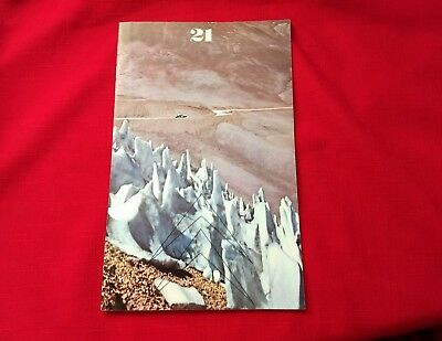 Citroen 21 Quarterly Bulletin 1970 with The Black Cruise Expedition French & Eng
