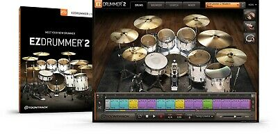 Toontrack EzDrummer 2 - Genuine License Serial - Digital Delivery - PC / Mac