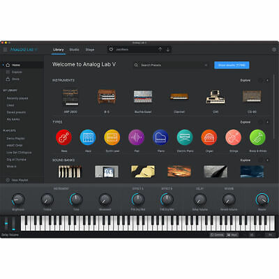 Arturia Analog Lab 4 - Genuine License Serial - Digital Delivery - Mac & PC