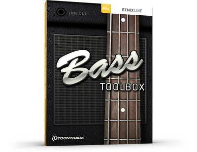 Toontrack Bass Toolbox EzMix Pack - Genuine License Serial - Digital