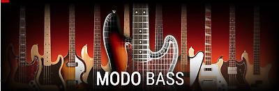 IK Multimedia MODO Bass - Genuine New License Serial - Digital Download Delivery