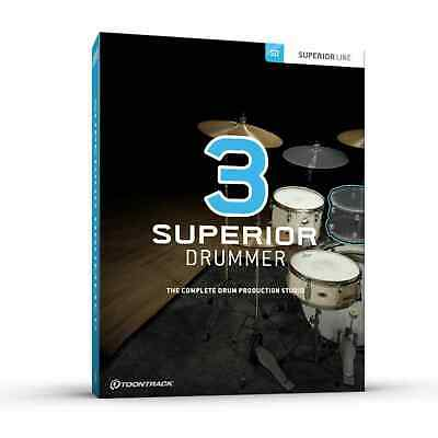 Toontrack Superior Drummer 3 Genuine License Serial - Digital Delivery - Mac &PC