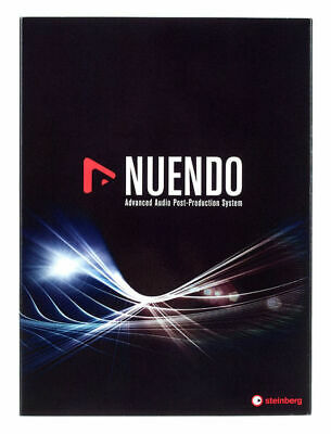Nuendo 10 - Full Version - Genuine Steinberg License Serial - Digital Delivery