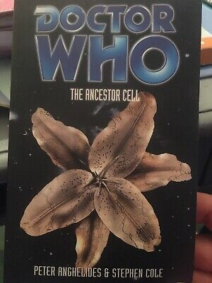 DOCTOR DR WHO BBC EDA (8th DOCTOR) PAPERBACK - THE ANCESTOR CELL