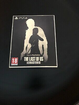 The Last of Us Remastered Game Special Edition Slip. Brand New