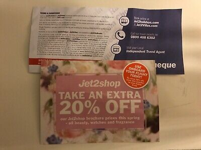 Jet2 £60 Off Holiday Voucher And 20% Off Onboard Shop Voucher