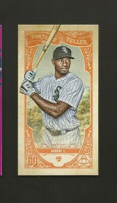 "2020 Topps Gypsy Queen ""White Sox Rookie Luis Robert"" ""Fortune Teller-Rookie"""