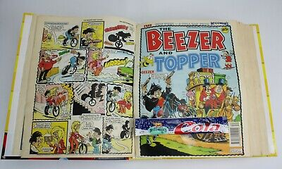 Beezer & Topper Comic - Sep 92 - Mar 93 - Binder WITH FREE GIFTS Issues 104-129