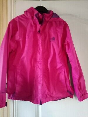 Girls Pink Karrimor Coat Age 13 Years