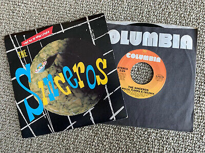 (2) SINCEROS TAKE ME TO YOUR LEADER b/w Quick Quick Slow ALSO Worlds Apart... 45