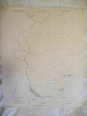 1954 Baker Lake, ME Maine USGS Topographic Topo Map