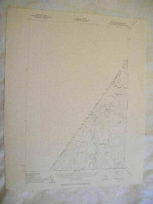 1955 Depot Lake ME Maine USGS Topographic Topo Map