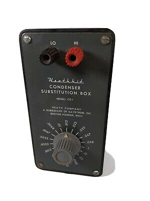Heathkit Condenser Substitution Box Model CS-1