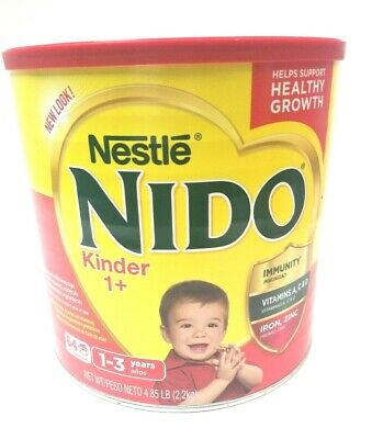 NESTLE NIDO KINDER 1+ Powder Milk Size 4.85 LB Shelf Stable Powdered New