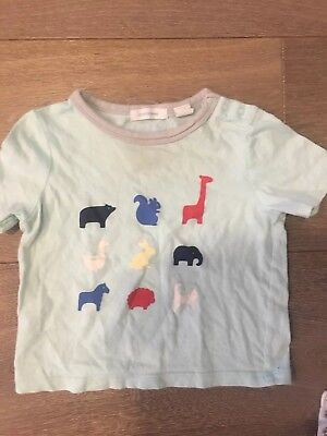 Country Road Animal Tee Top Tshirt - EUC - Size 0 (6-12 Months)