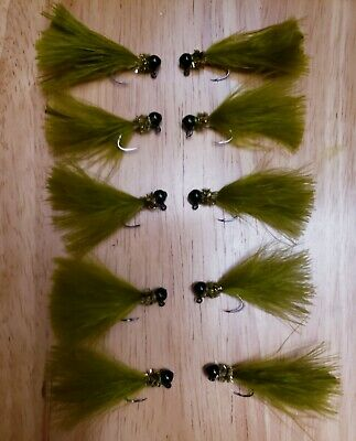 Trout Fagen/'s Shad Crappie /& Warm Water Jigs x12
