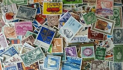 WORLD Selection Off Paper Stamps 1000-65 Grms Super Mixture Excellent RF/1078_A