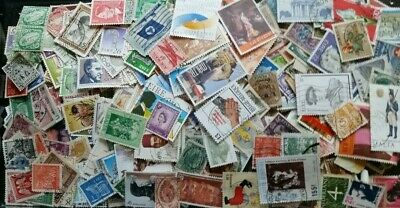 WORLD Selection Off Paper Stamps 1000 = 65 Grms Super Mixture Excellent RF/1077A