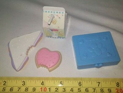 Fisher Price Little Mommy Baby Doll Replacement Accessories milk cookie wipes