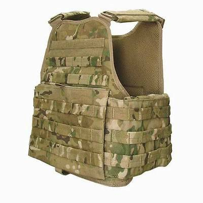 NEW  Multicam Modular Vest/Plate Carrier   WITH  IIIA INSERTS
