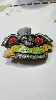 A  Poison  Flesh And Blood Belt Buckle