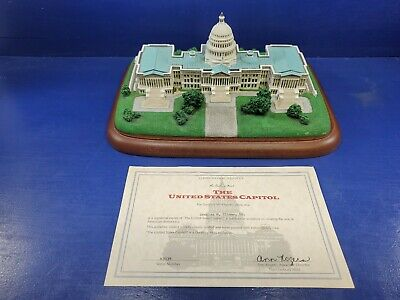 "Danbury Mint ""The United States Capitol"" Building Replica Sculpture U.S. Capital"