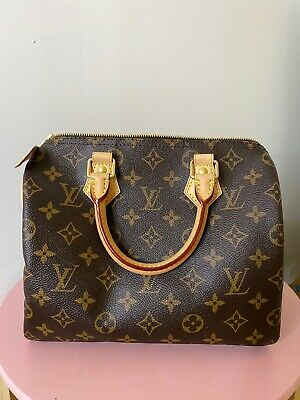 AUTH Louis Vuitton MONOGRAM Speedy 25 GORGEOUS EUC