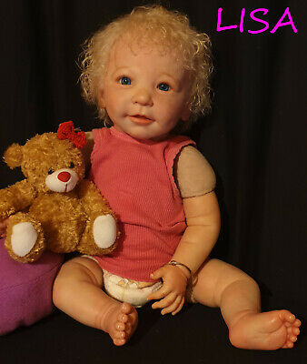 Hard to Find*** Lovely *Lisa* by Linde Scherer Reborn Baby Girl 22""
