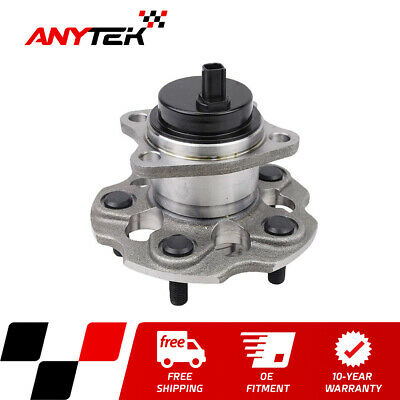OCPTY 1pcs New Premium 512454 Rear Wheel Bearing and Hub Assembly fit for 2013 2014 2015 for Toyota Avalon 2012 2013 2014 2015 for Toyota Camry 5-Lug With ABS